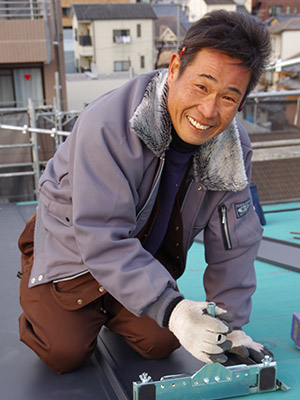 京都の雨漏り修理の達人 松田勝資
