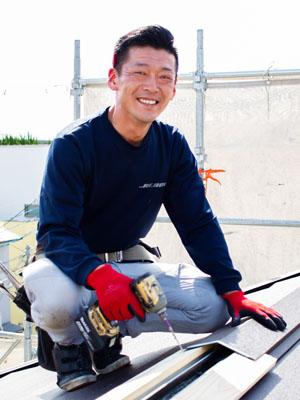 京都の雨漏り修理の達人 竹村督史