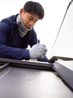 京都の雨漏り修理の達人 山口周馬