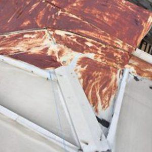 金属屋根の錆